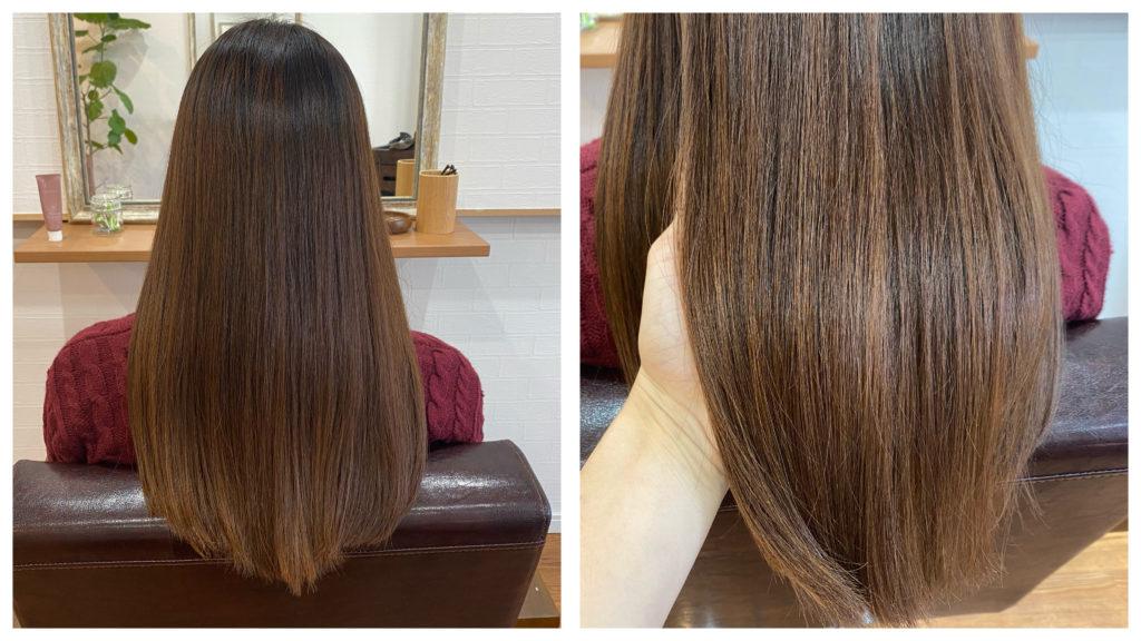 【実例】細い髪でもふんわりと縮毛矯正をかけることはできますか?