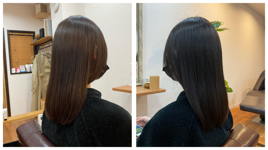 【直毛だけれど膨らんでしまう】縮毛矯正で改善する事が正解なの?
